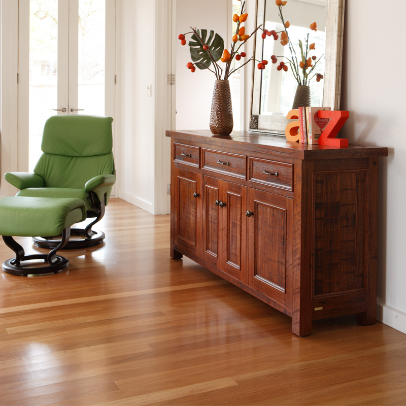 Barossa Timber Sideboard With 4 Doors Amp 3 Drawers