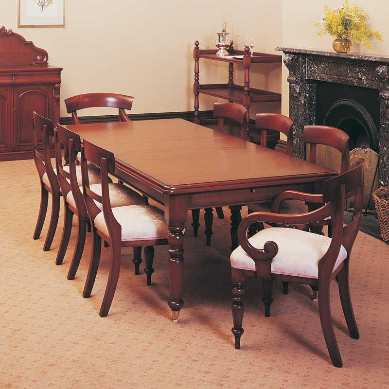Classic Extension And Classic D End Timber Dining Table