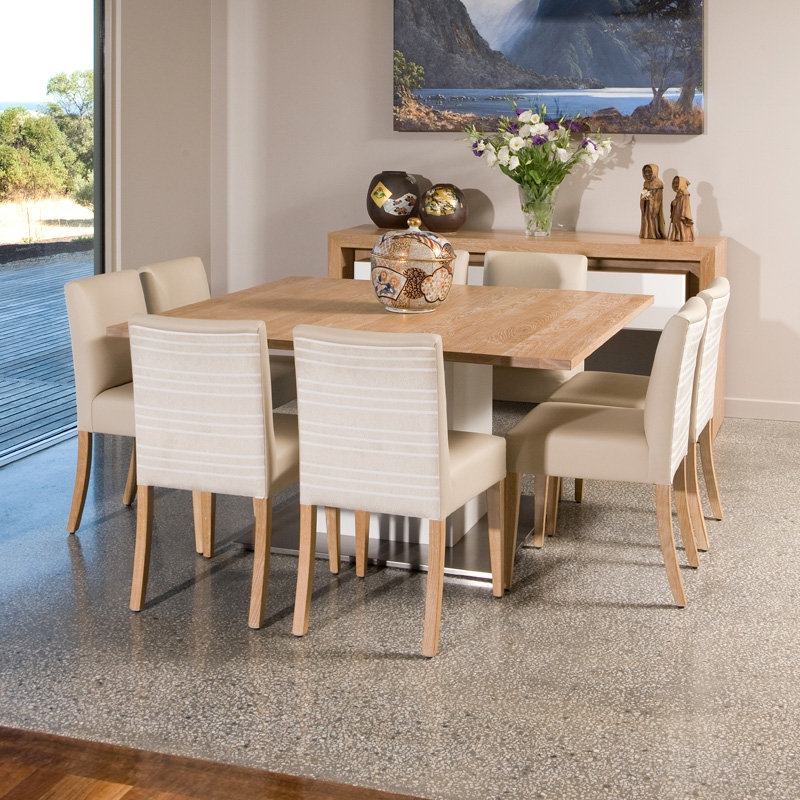 Dallas Fixed Timber Dining Table Pfitzner Furniture Beautiful