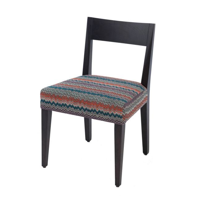 Tahoe timber chair - upholstered seat contemporary design