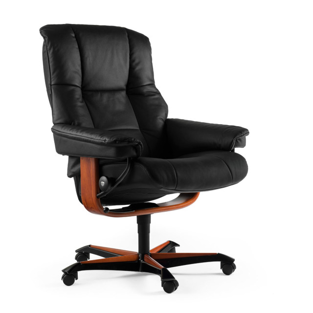 The Sturdy Dependable Mayfair Stressless Office Recliner Pfitzner Furniture Beautiful
