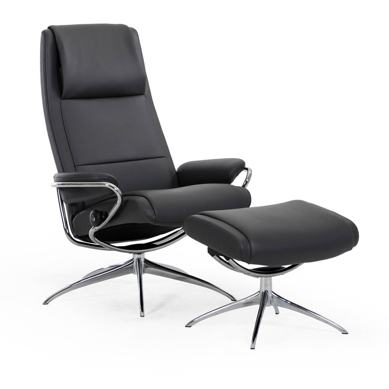 Our Paris Stressless Recliner Chair With High Or Low Back