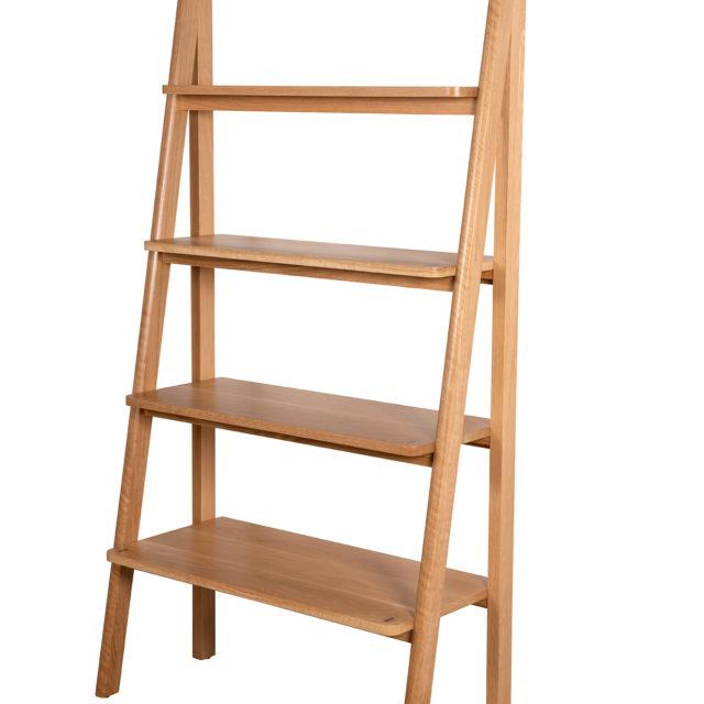 Ladder Shelf solid oak