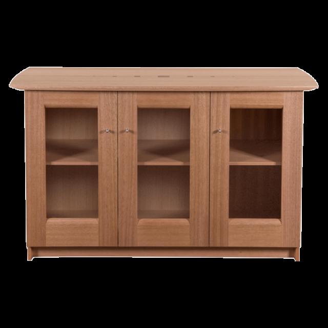Allegro Sideboard 3 door Glass