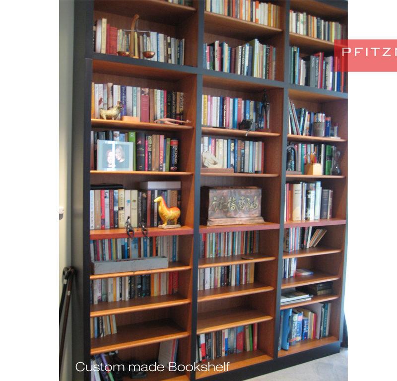 Custom Made Bookshelves And Wall Units