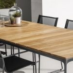 Gloster carver-dining table Outdoor