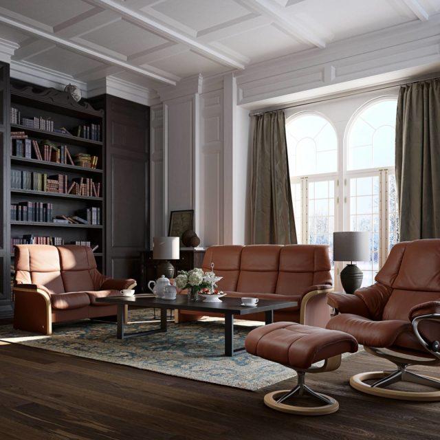 Stressless Eldorado reclining lounge Low and High back