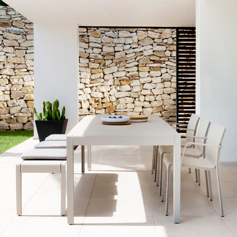 Mirthe Dining table and chairs by Tribu