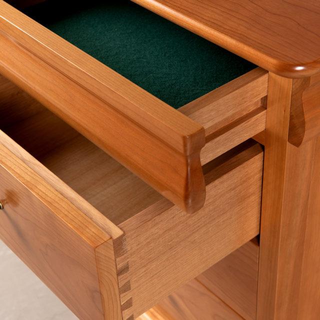 Avignon Bedside secret top drawer