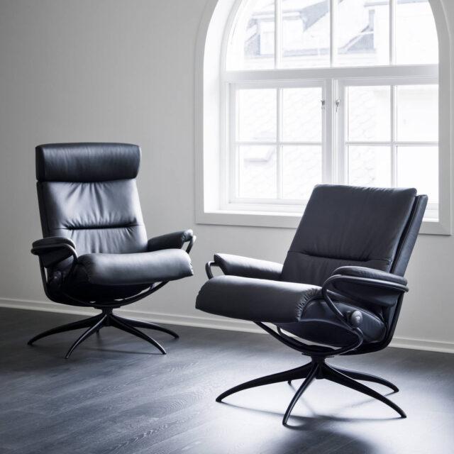 Stressless Tokyo recliner chair low  High back