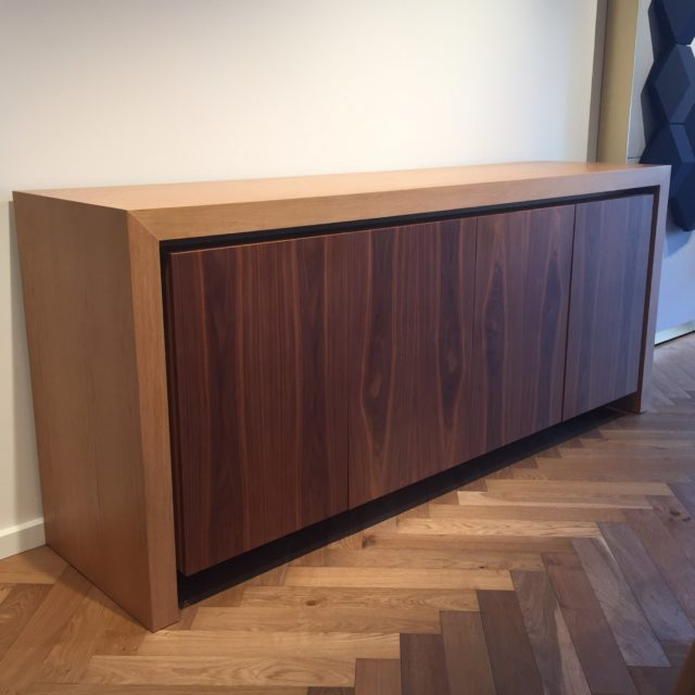 Walnut doors McLaren Sideboard Credenza 2100 x 900 x 540mm