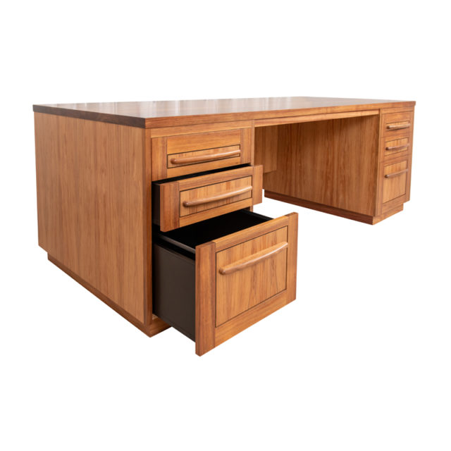 DSK181 Reeves Desk- Blackwood  2100 x 910mm