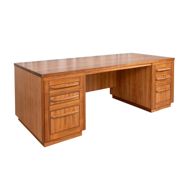 DSK181 Reeves Desk  2100 x 910mm (Blackwood)