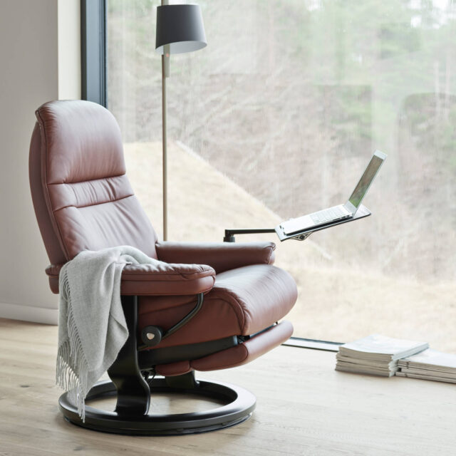 Stressless_Sunrise_Power_M_Pal_Maroon_Wenge_Computer_table