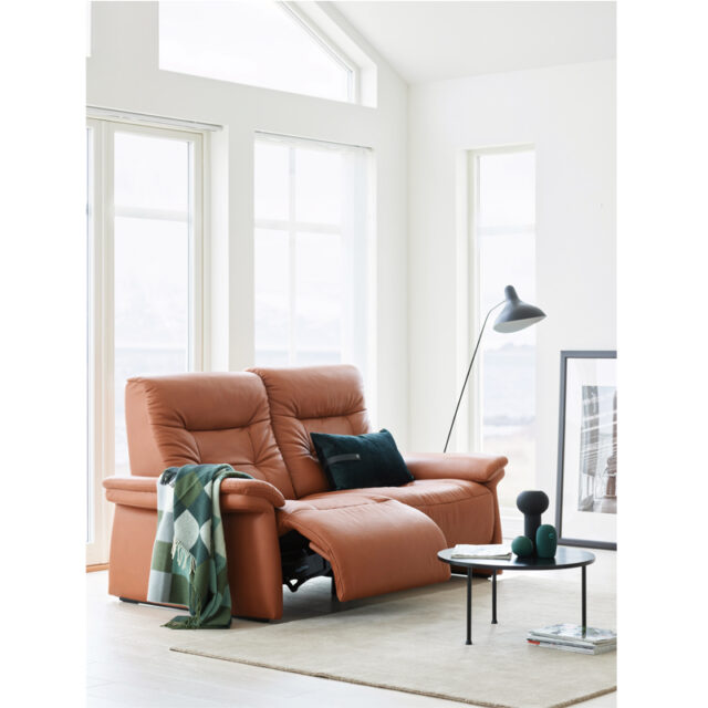 Stressless Mary Power 2 seater Paloma Copper leather