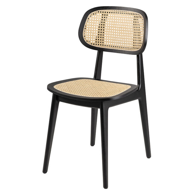 Rattan back and seat chair from Vincent sheppard