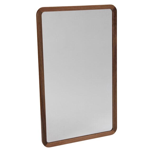 Dan timber frame Mirror - Small Blackwood timber