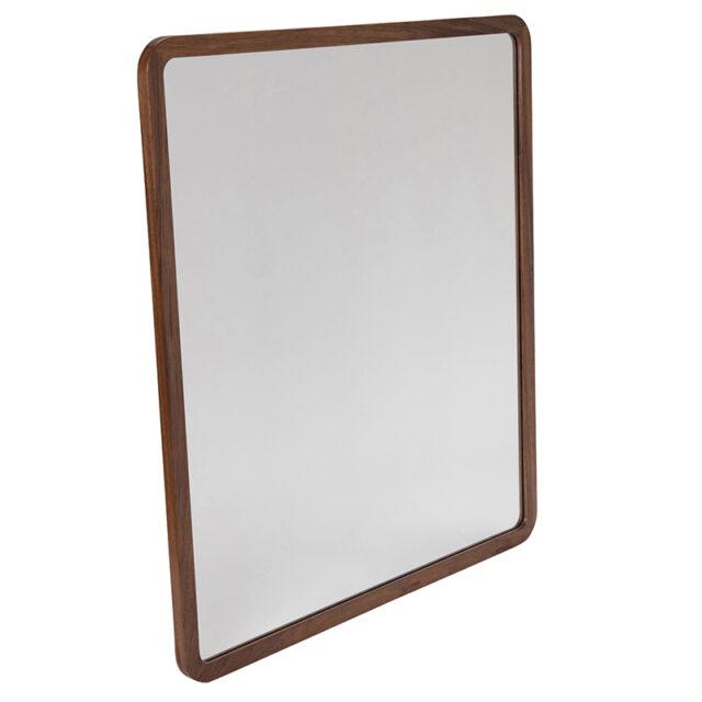 Dan timber frame Mirror - Large Blackwood timber