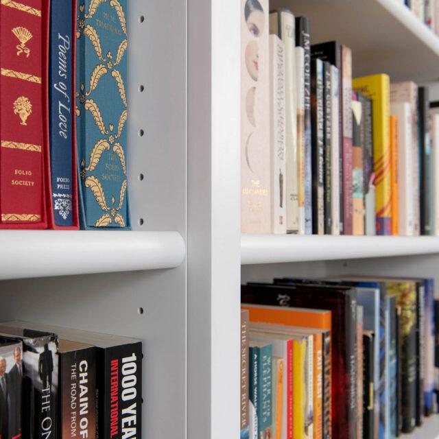 Detail adjustable book shelves_Built in 3.0m x 3.0m
